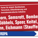 Cover image for EME event 'Europawahl 2019 - Die PARTEI wählen!'