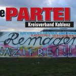 Cover image for EME event 'Die PARTEI in Remagen (Infostand / Anlaufstelle)'
